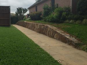 Retaining Wall Contractor Plano