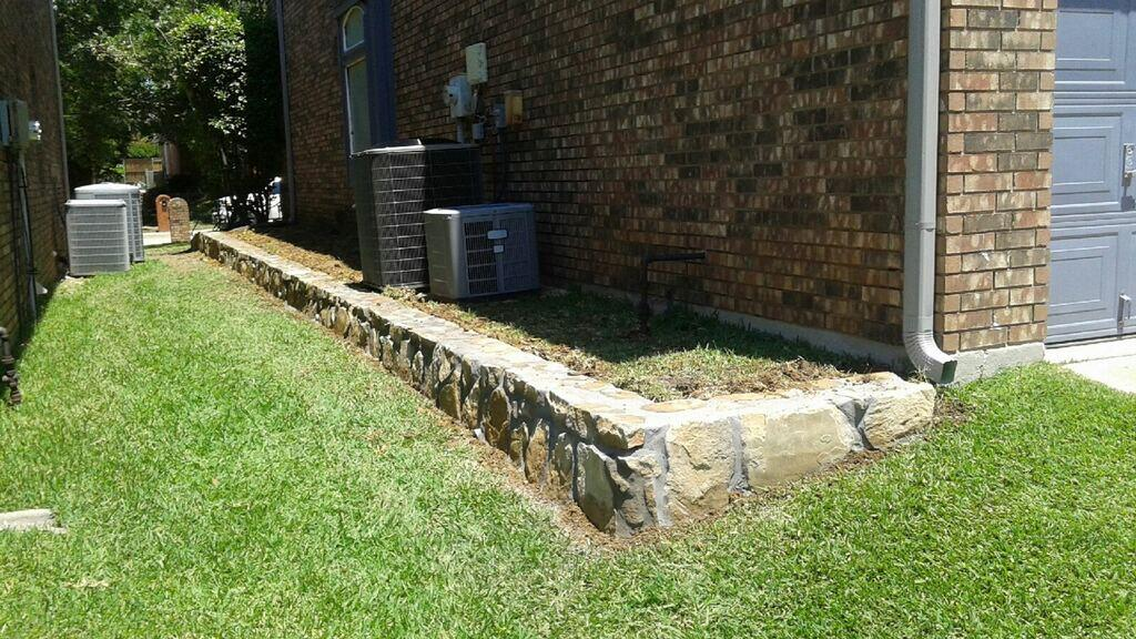 Retaining Wall Project Low Cost Jcl Landscaping