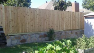 Retaining Wall Fence Keller, Texas