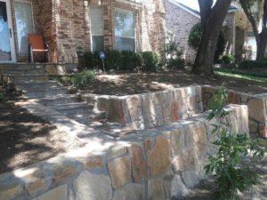 Retaining Wall Dallas TX