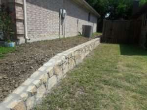 Arlington Retaining Wall