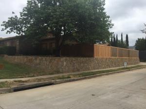 Carrollton Retaining Wall 2