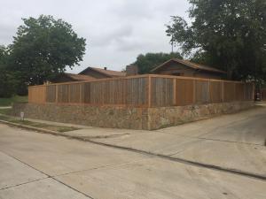Carrollton Retaining Wall