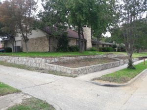 retaining wall coppell 1