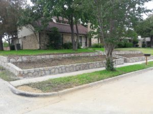 retaining wall coppell 2
