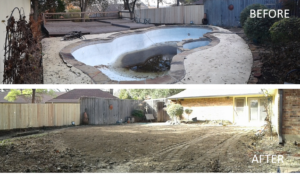 Swimming Pool Removal and Demolition