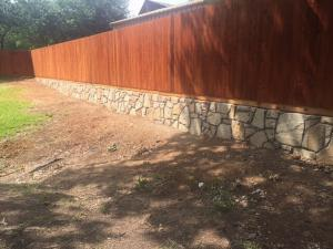 Retaining wall Grapevine