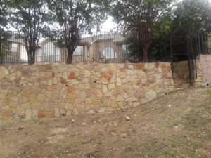 Retaining Wall With Stairs 3