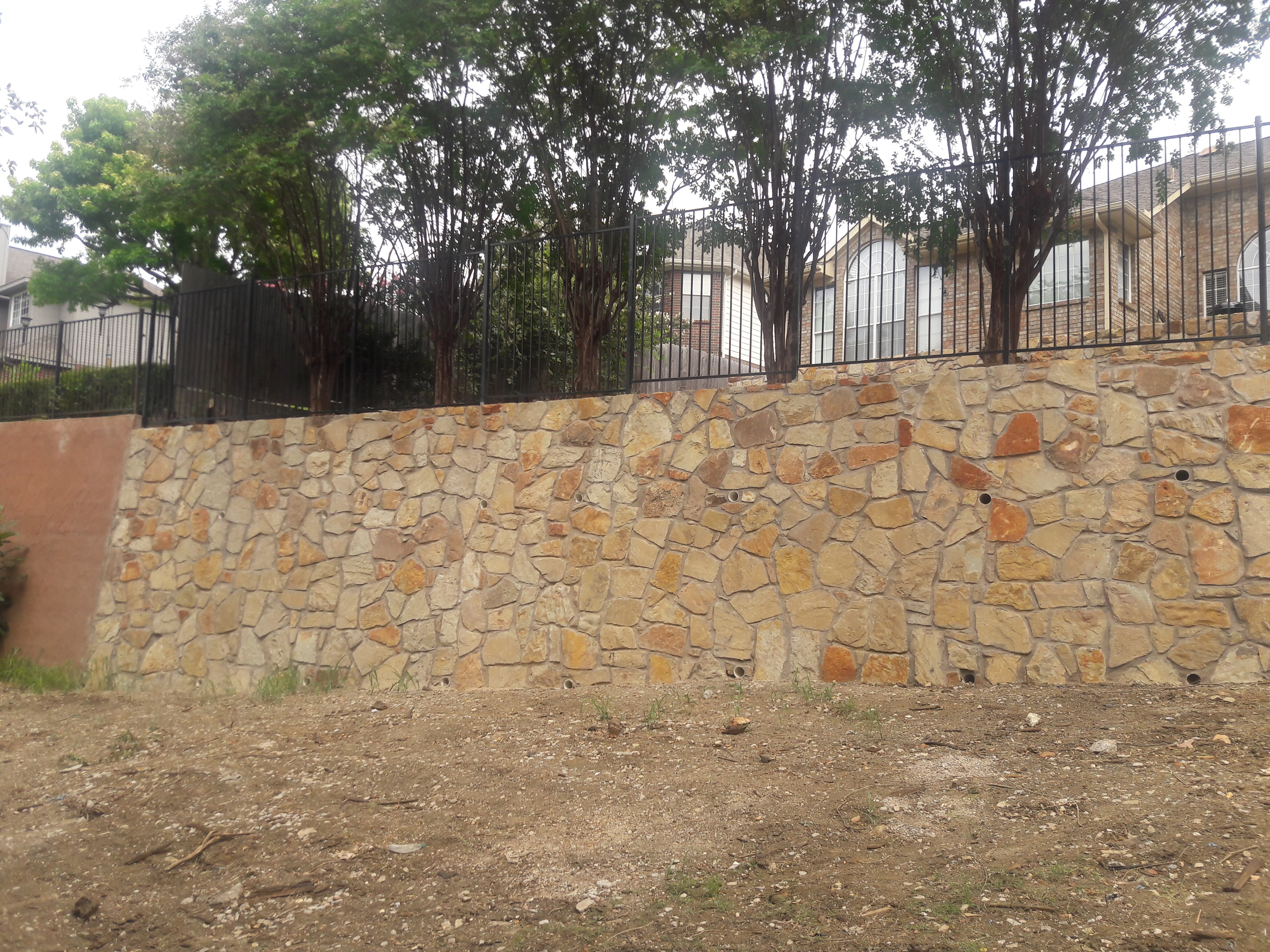 Retaining Wall With Stairs 1 Retaining Wall With Stairs 2 ...
