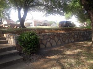 Retaining Wall Lewisville 1