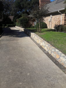 Replacement Retaining Wall 1