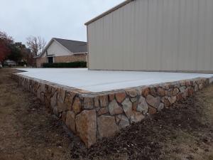 Retaining Wall Driveway 1